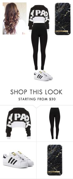 """""""makenzie"""" by amyleerodriguez ❤ liked on Polyvore featuring Ivy Park, adidas Originals and iDeal of Sweden"""