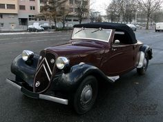 citroen-traction-11 bl-cabriolet-1938-1 My Dream Car, Dream Cars, Citroen Traction, Traction Avant, Cabriolet, Amazing Cars, Antique Cars, Vehicles, Passion