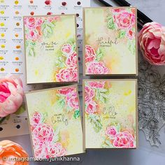 #ginakdesigns #heroarts #watercolor #handmadecard #juhishandmadecards Hero Arts, Card Kit, Watercolor, Photo And Video, Projects, Instagram, Handmade Cards, Videos, Photos