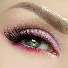 Pink eye make up ✨