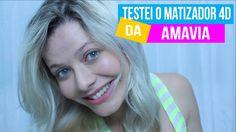 TESTEI E APROVEI O MATIZADOR 4D DA AMAVIA + 3 MIN MILAGROSOS - RESENHA |...
