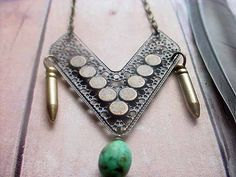 Bullets and beads via Etsy.