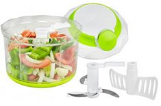 Brieftons QuickPull Food Chopper: Large Powerful Manual Hand Held Chopper/Mincer/Mixer/Blender to Chop Fruits, Vegetables, Nuts, Herbs, Onions for Sals. Food Chopper, Blender Food Processor, Food Processor Recipes, Commercial Food Processor, Salsa Salad, Vegetable Chopper, Easy Casserole Recipes