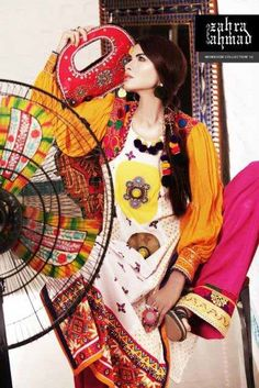 Monsoon Limited Edition Eid Collection 2012 by Zahra Ahmad for Women.