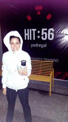 Saliendo del @hit56pedregal cerrando con broche de oro la semana #simecansosigo #FitnessFriday #esaeslaactitud :)