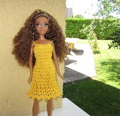 Passion Poupées: Une petite robe jaune