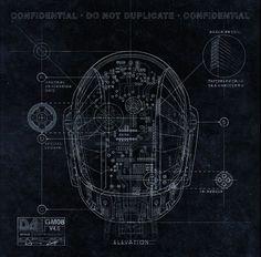 Daft Punk's helmets design work