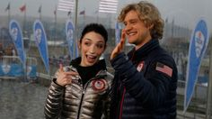 """Meryl Davis and Charlie White want to perform on """"Dancing with the Stars"""" following their 2014 Olympics gold medals for ice dancing."""
