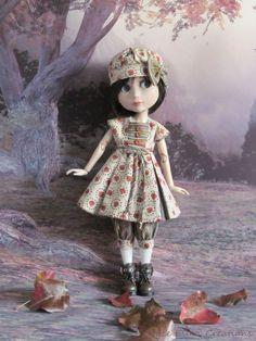Patience doll clothes  ebay papillion or JoyceEllenCreation 32.00 dress, hat, bloomers, stockings