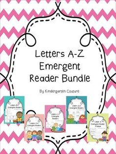 A-Z Emergent Readers  from KindergartenCouture on TeachersNotebook.com -  - Emergent Readers, ABC Emergent Readers, Letters A-Z Emergent Readers, Beginning Reading (scheduled via http://www.tailwindapp.com?utm_source=pinterest&utm_medium=twpin&utm_content=post10436372&utm_campaign=scheduler_attribution)
