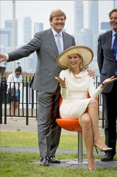 Queens & Princesses - King Willem Alexander and Queen Maxima spent their final day in in Canada in Toronto.