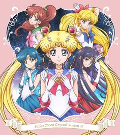Sailor Moon Crystal Season 3 Blu-ray & DVD + Cover art of Volume 1