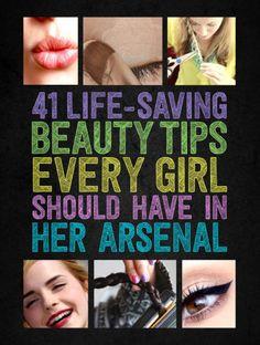 41 dicas de beleza que toda garota deve ter em seu arsenal