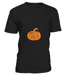 "Are you pregnant and want to announce your pregnancy this Halloween? You've just found the best way to do it, by wearing this cute pumpkin maternity shirt.   Features a orange silhouette pumpkin with the words ""Mommys Little Pumpkin"" written in handwritten black letters. We advise to order a size up for a looser and better fit! Placement may vary depending on how many months in you are in your pregnancy."