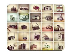 Vintage Cameras ,Rectangle mouse pad Your Perfect Choice