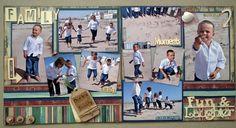 multi photo scrapbook layouts - Google Search