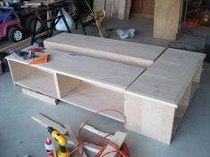 bed frame blueprints - Google Search
