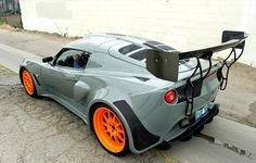 Custom Specialty Car Craft bodywork and matte-grey paint on a 633-horsepower Lotus Exige