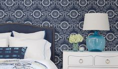 Add artistic style to your home with modern wallpaper designs! Modern Wallpaper Designs, Designer Wallpaper, Of Wallpaper, Pattern Wallpaper, Diy Room Decor, Home Decor, Ceilings, Future House, Floors
