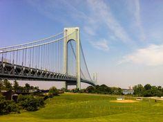 Photo du pont Verrazano-Narrows, à New York