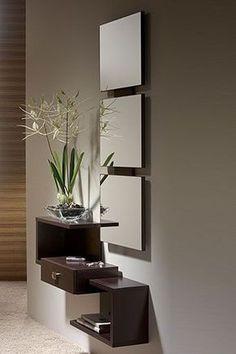 lindísimo mueble de entrada para decorar tu #Departamento