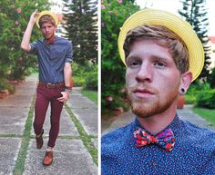Second Time Round. (by Brett Charles Seiler) http://lookbook.nu/look/4634911-Second-Time-Round