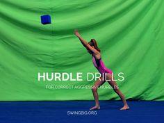 Hurdle Drills - For Strong Aggressive Hurdles | Swing Big! Gymnastics Blog