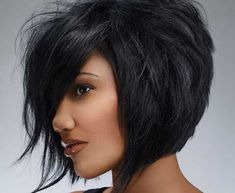 Short Hair Hair Styles for Girls Medium Short Hair, Medium Hair Cuts, Short Hair Cuts, Medium Hair Styles, Short Hair Styles, Natural Hair Styles, Bob Styles, Short Wavy, Medium Long