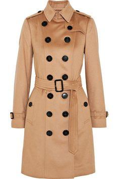 BURBERRY The Sandringham Classy cashmere trench coat 55b4469b62fcc