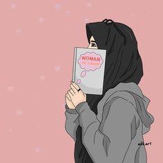 Jangan iri pada apa yang diberikan Allah kepada orang lain, karena kau tak tau apa yang diambil oleh Allah darinya. Dan jangan sedih atas apa yang Allah ambil darimu kerena kau tak tau apa yang akan di Anugerahkan Allah padamu 💕 Hijabi Girl, Girl Hijab, Girl Cartoon, Cartoon Art, Cover Wattpad, Hijab Drawing, Islamic Cartoon, Hijab Cartoon, Islamic Girl