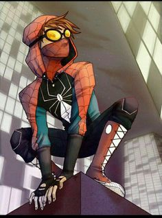 Spiderman+Ticci Toby
