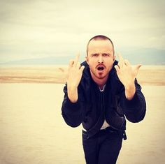 He is Jesse Pickman, bitch! Breaking Bad. Aaron Paul #aaronpaul
