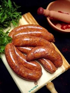 Homemade Algerian/North African Merguez Sausages via The Teal Tadjine | Mediteranean-Inspired Family Traditions