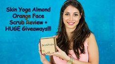 FOMO : Skin Yoga Almond Orange Face Scrub Review + HUGE Giveaway!