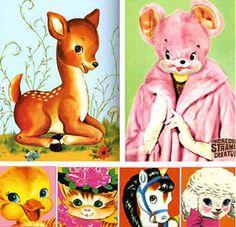 Happy kitty, bunny, pony book. So kitsch.