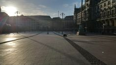 Rathausmarkt, early Saturday morning... let's find a way to flux it up soon #fluxero