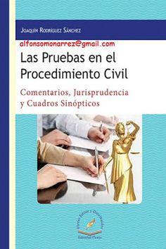 LIBROS EN DERECHO: LAS PRUEBAS EN EL PROCEDIMIENTO CIVIL comentarios ...