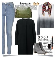 """""""Sem título #399"""" by caroolnunees ❤ liked on Polyvore featuring Topshop, Jil Sander Navy, Gianvito Rossi, Frye, Cartier, Essie and MAC Cosmetics"""