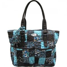 Donna Sharp Elaina Bag Glacier Patch 10469