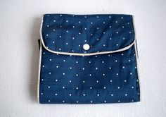 Vintage Ladies Stocking Storage Bag, Polka Dots,Vintage 1950's. door VasioniVintage op Etsy