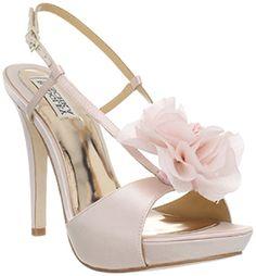 Badgley Mischka Wedding Shoes pink  #shoes www.finditforweddings.com