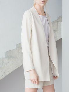 MINIMAL + CLASSIC: THISISNON Raw Silk Collection / Photo by Kasia Bielska