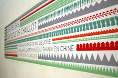 signalétique réalisée pour l'Ecole de Chaillot par L'AtelierBeau/Voir