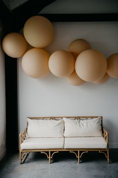Love this lounging corner from Dani + James' big day ✨ Design & balloon installation by Photo by Cocktail Wedding Reception, Wedding Lounge, Wedding Set, Wedding Decor, Wedding Tips, Wedding Events, Wedding Styles, Balloon Installation, Wedding Furniture
