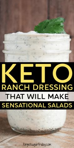 Check out this Keto Bacon Ranch Dressing recipe! Check out this Keto Bacon Ranch Dressing recipe! Check out this Keto Bacon Ranch Dressing recipe! Ketogenic Recipes, Low Carb Recipes, Diet Recipes, Recipes Dinner, Slimfast Recipes, Salad Recipes, Breakfast Recipes, Dessert Recipes, Lasagna Recipes