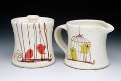 cute mugs by lollipop studio
