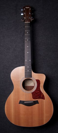 Taylor 114ce Grand Auditorium Acoustic-Electric Guitar-  Simple, inexpensive, beautiful to see, beautiful to hear, beautiful to play
