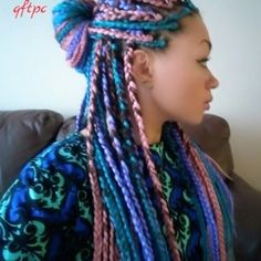 Was thinking of getting these but got influenced by another hairstyle:-) Still love it though