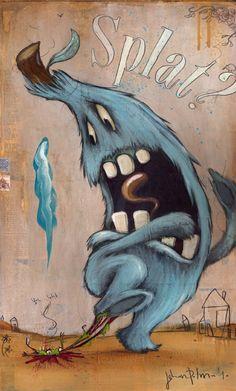 Johan Potma - Illustration - Monster