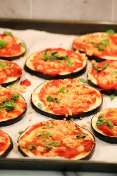 """Clean Cuisine 15 Minute Almost Cheeseless Eggplant Pizza Recipe with Pine Nut """"Cheese"""""""